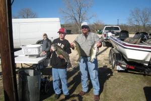 Dale and Jake - 1st place 25 lbs and Big Bass